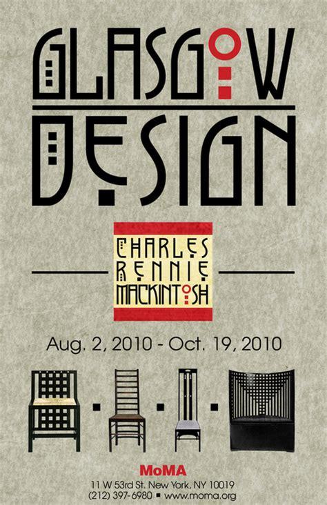 poster design glasgow charles rennie mackintosh on behance