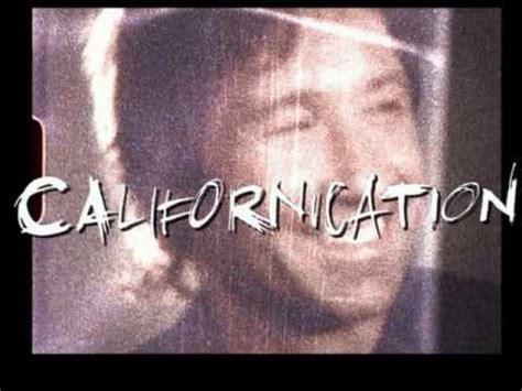 Theme Song Californication | californication theme song youtube