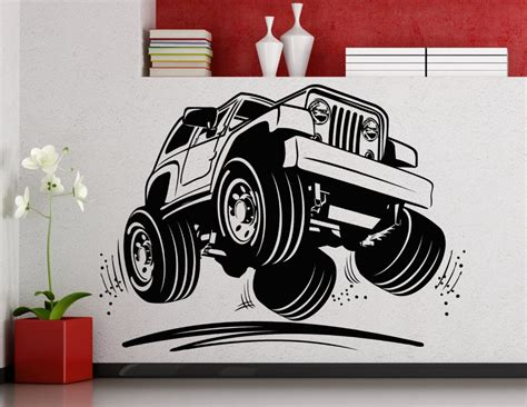 Cool Jeep Stickers Jeep Home Decor Promotion Shop For Promotional Jeep Home