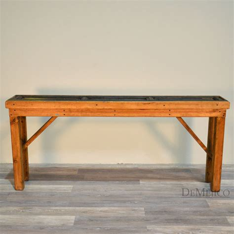sofa table with doors old door console table demejico