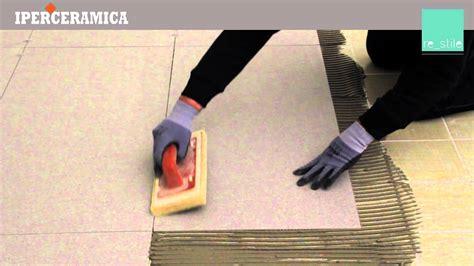piastrelle sottili da incollare posa pavimento gres sottile iperceramica