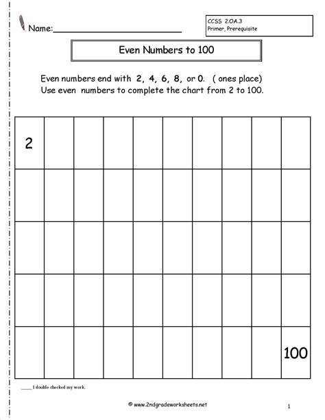 Numbers And Even Numbers Worksheets by Even And Numbers Worksheets