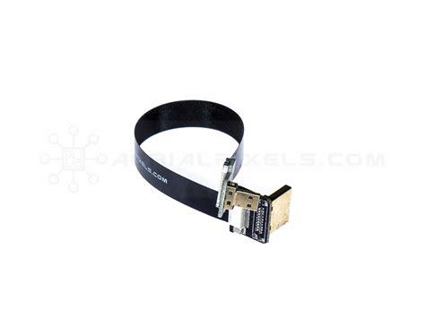 Dijamin Micro Hdmi To Hdmi 15cm ultra thin hdmi cable micro to hdmi standard right angle