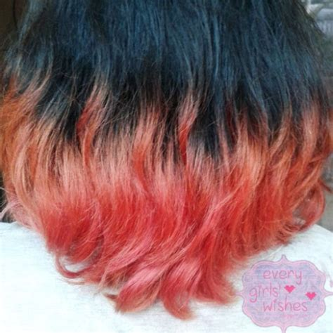 tutorial ombre rambut ungu tutorial ombre rambut hermajestycloset