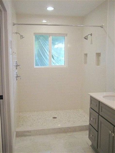 walk in shower with curtain 17 best images about showers on pinterest double shower