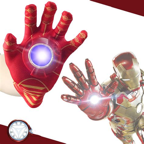 disney avengers iron man glove action figure launchers