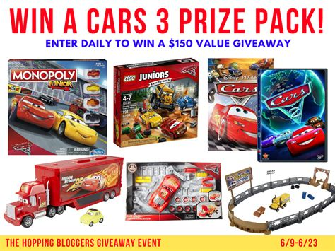 Disney Giveaway - cars 3 giveaway healthy happy thrifty family