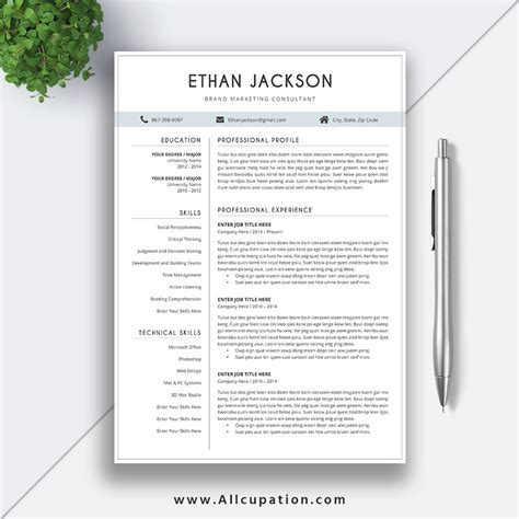 esume reference template reference resume template reference