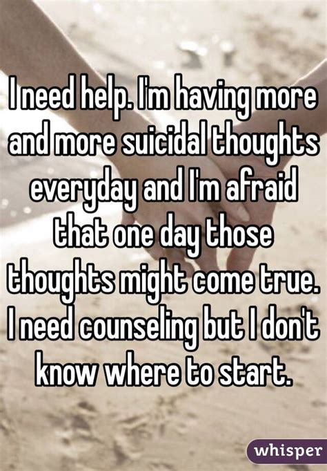 More Helpful Hints For Everyday by I Need Help I M More And More Suicidal Thoughts