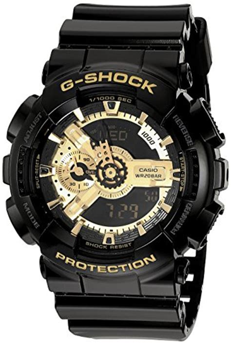 G Shock Baby G Time Black Angka Gold usa g shock mens ga 110 black gold one