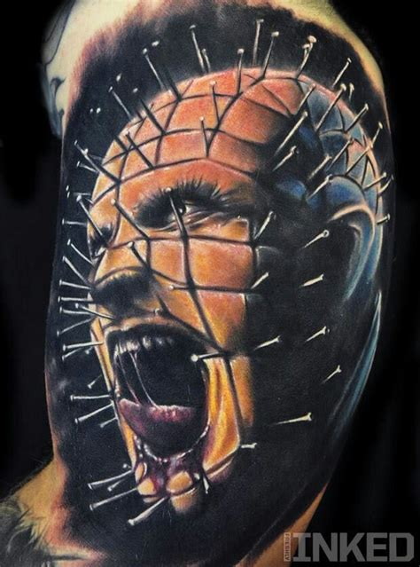 hellraiser tattoo designs pin from hellraiser amazing fashion