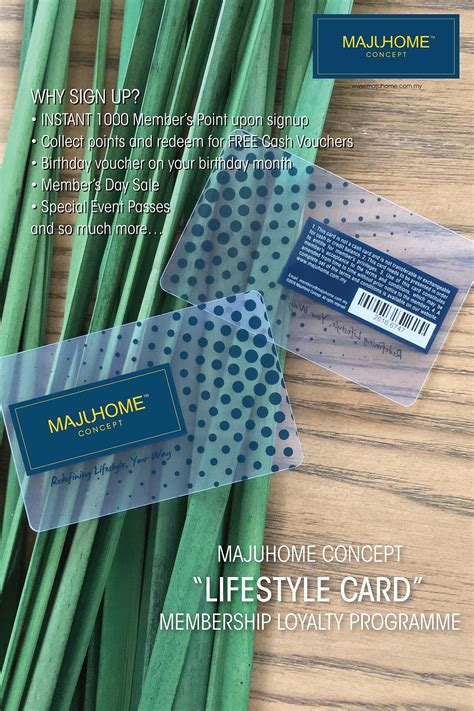 lifestyle card majuhome concept