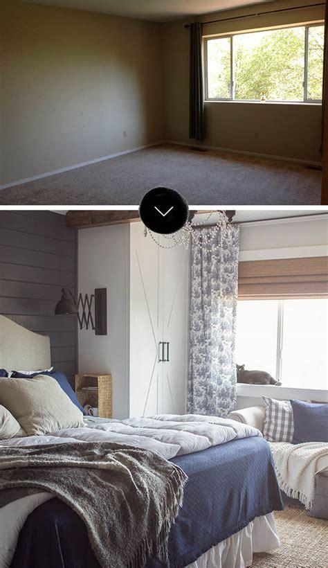 before after bedroom makeover design sponge roommakeover
