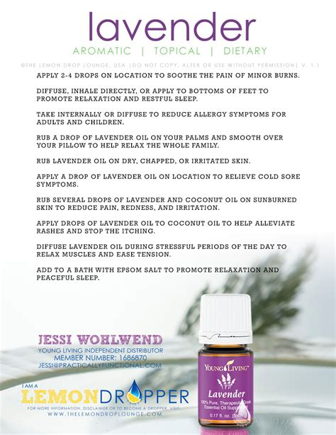 lavender is my favorite young living essential oil it s so versatile http
