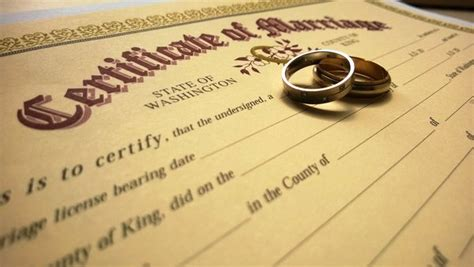 Seattle Marriage Records Marriage Licensing King County