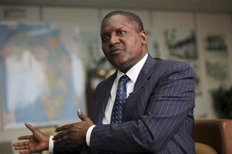 Africa S Richest Aliko Dangote Plans More Investments In Zambia by Dangote Aliko 2012