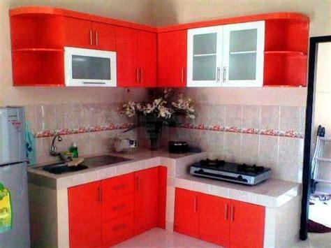 desain dapur nuansa merah 40 contoh dapur warna merah yang nak cantik bergaya