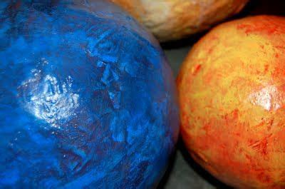 How To Make Paper Planets - out of this world papier mache planets all