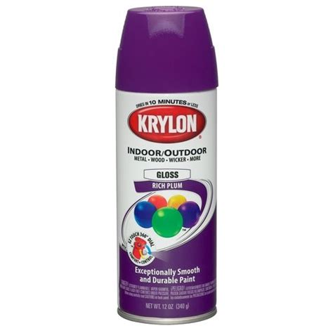 colormaster indoor outdoor aerosol paint 12oz gloss rich plum paint colors colors and the o jays