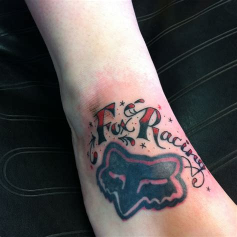 fox racing tattoo fox racing fox racing