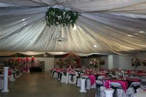 power to personalize your wedding decor idea ceiling