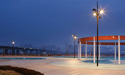 selux lighting olivio by selux multifunctional urban lighting system