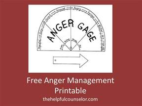 free anger management printable activity helpful counselor