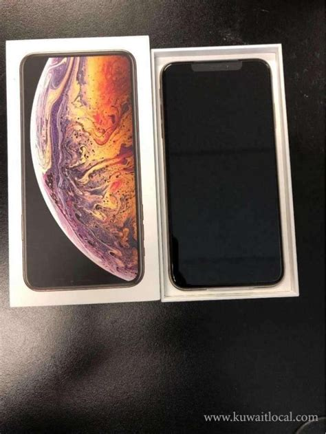 apple iphone xs max  gb kuwait local