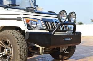 Jeep Rock Lights Modified Bolero Mahindra Thar Amp Bolero Customization