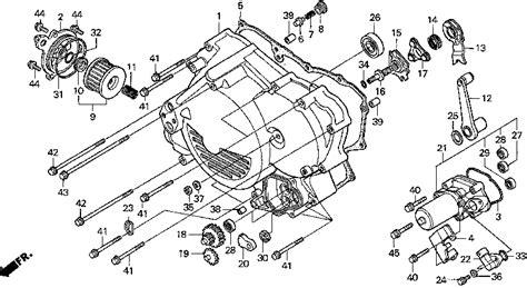 honda foreman 450 parts diagram hey rich honda foreman forums rubicon rincon rancher