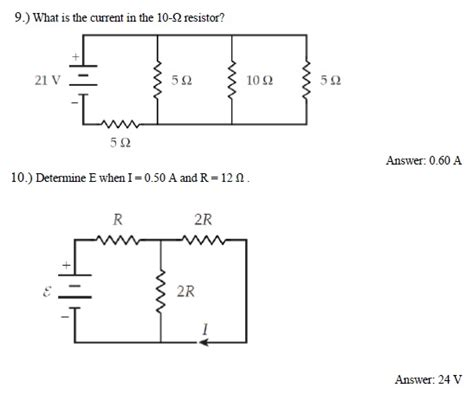 what is the current through a 10 ohm resistor connected to a 120 v power supply the current through a 50 ohm resistor 28 images electric current and series and parallel