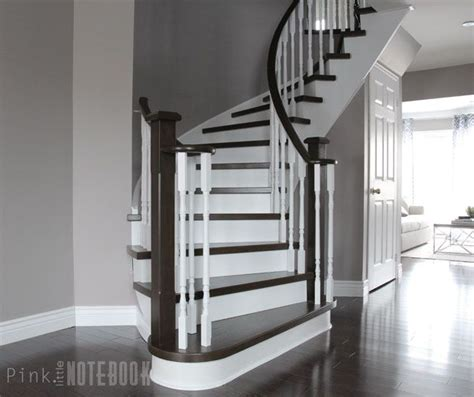 staircase remodel curved staircase remodel before after pink curved