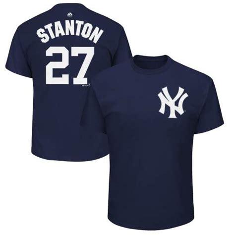Yankees Shirt By Yankees Shirt giancarlo stanton yankees no 27 jerseys shirts 2018