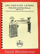 Wood Lathe Parts Ebay