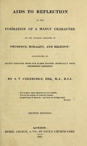 aids to reflection in the formation of a manly character on the several grounds of prudence morality and religion illustrated by select passages from archbishop leighton classic reprint ebook aids to reflection in the formation of a manly character