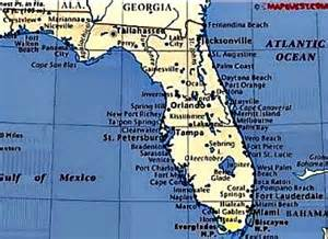 east coast florida map cities florida retirement communities