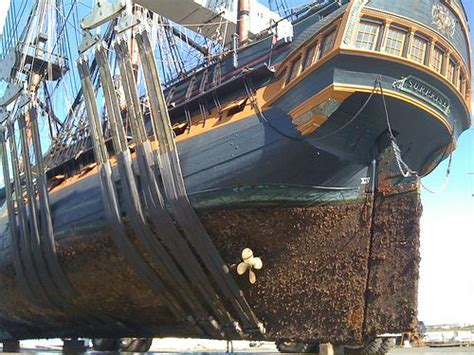 ship keel keel covered with barnacles parts of the ship pinterest