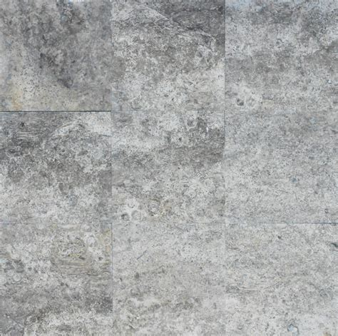 silver travertine tiles sefa stone