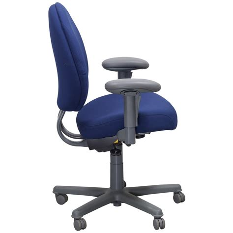 Steelcase Criterion Chair by Steelcase Criterion Plus Used Task Chair Blue National
