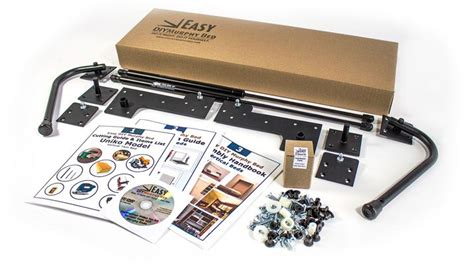 futon hardware kit easy to build murphy bed hardware kits easy diy murphy