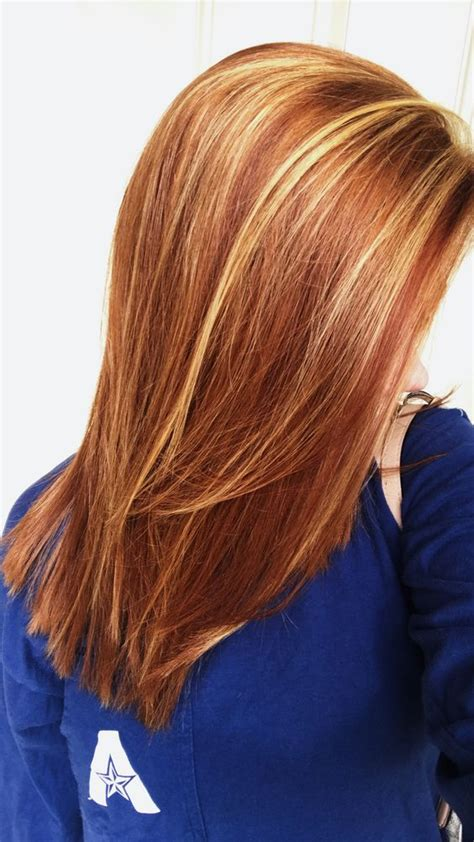 chocolate red hair on pinterest red blonde highlights red highlights ideas for blonde brown and black hair