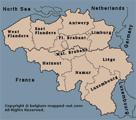 map of belgium regions opinions on provinces of belgium