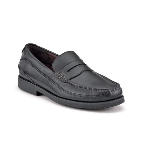 black sperry loafers sperry top sider seaport water resistant loafers in