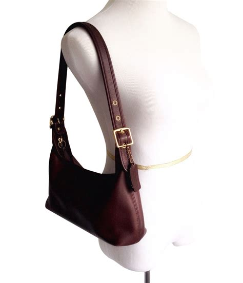 Coach Gallery Leather Laced Purse by Vintage Coach Leather Legacy Shoulder Bag Purse Brown