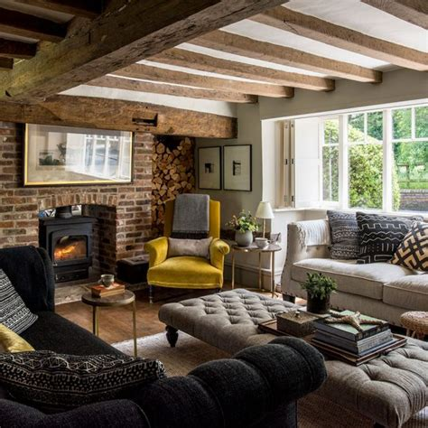country living room pictures ideal home