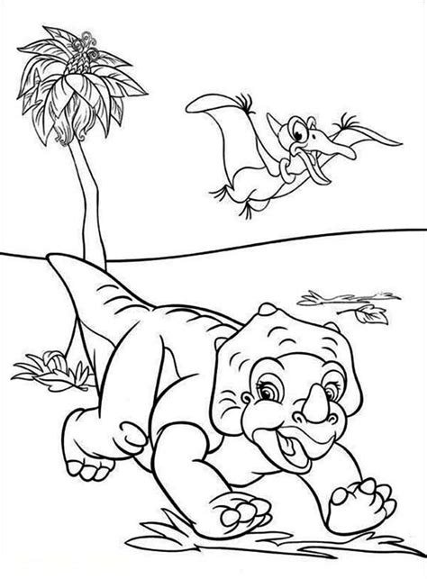 coloring book land 18 best images about coloring pages dinosaurs on
