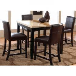 Conns Dining Tables Dining Counter Height Table 4 Chairs 2722 Dining Room Furniture Conn S