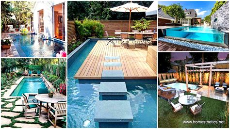 28 Mindbogglingly Alluring Small Backyard Designs Small Backyard Swimming Pools