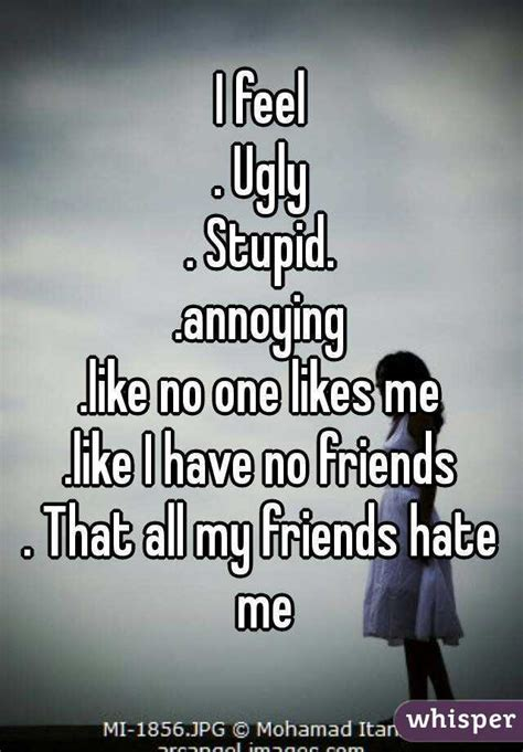 No One Likes by I Feel Stupid Annoying Like No One Likes Me