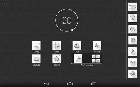 atom launcher apk atom launcher v2 2 2 apk free apk android downloads